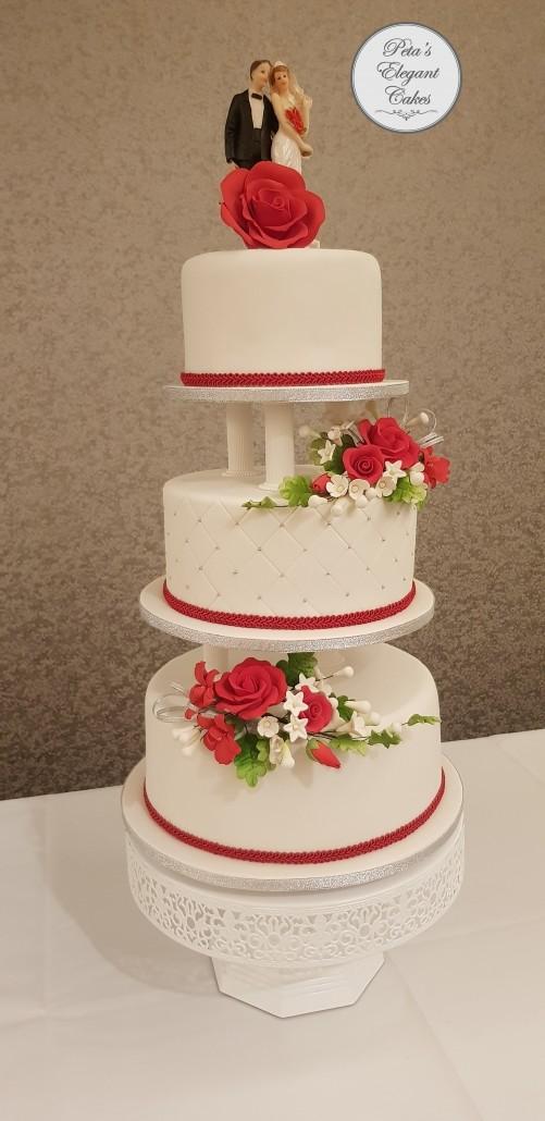Wedding Cakes In Brisbane Custom Made Amp Freshly Baked