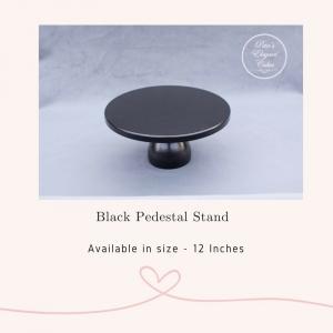 Cake Stand Hire Brisbane, Black Pedestal Cake Stand