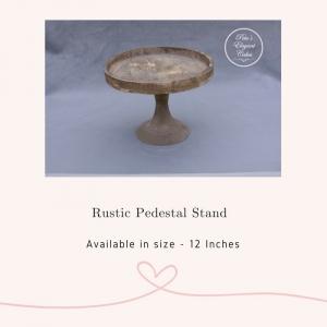 Cake Stand Hire Brisbane, Rustic Pedestal Cake Stan,